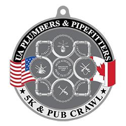 2021 VIRTUAL UA Plumbers and Pipefitters 5K