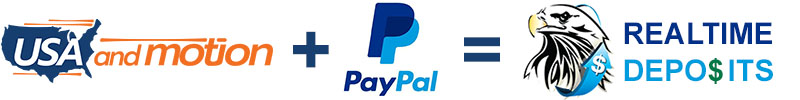 USA and Motion PLUS PayPal